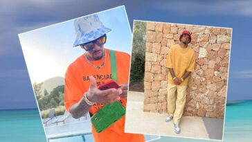 Jérôme Boateng entspannt auf Ibiza in Swag-Outfit